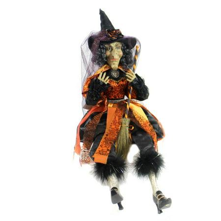 Halloween WINIFRED WITCH Fabric Karen Didion Originals Ha2602 (Karen Halloween)