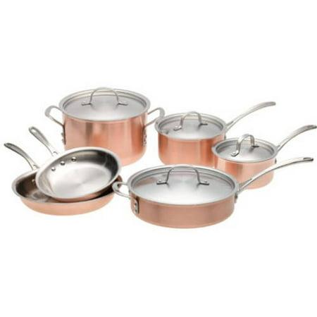 Calphalon T10 Tri Ply 10 Piece Copper Cookware Set