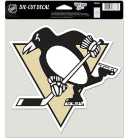 "Pittsburgh Penguins Die-Cut Decal - 8""x8"" Color"