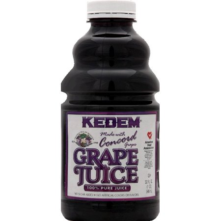 Kedem 100% Pure Grape Juice Made with Concord 32 oz