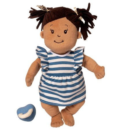 Manhattan Toy Baby Stella Beige with Brown Hair 15