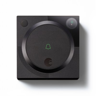 August Home Doorbell Camera, Dark Gray by Supplier Generic