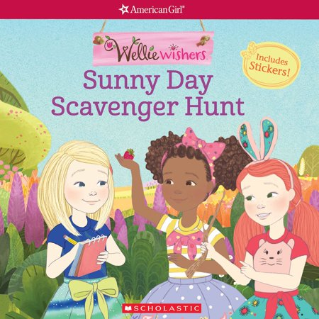 Sunny Day Scavenger Hunt (American Girl: WellieWishers) - eBook - Fun Halloween Scavenger Hunts