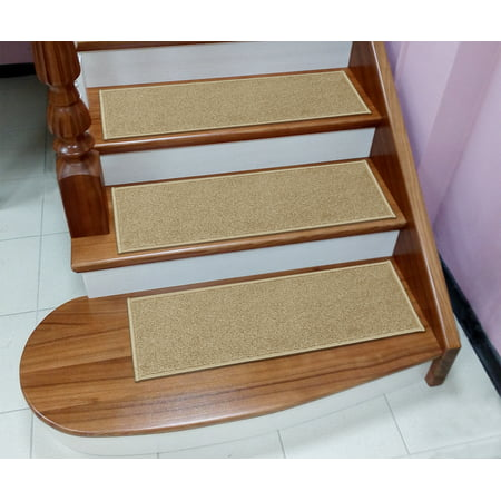 "Sweet Home Stores Soft Non-Slip Carpet Stair Treads, 9"" X 26"""