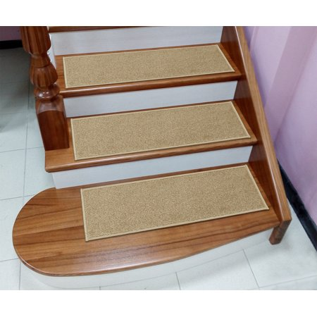 - Sweet Home Stores Soft Non-Slip Carpet Stair Treads, 9