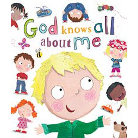 God Knows All About Me (Board - All About Me Paper