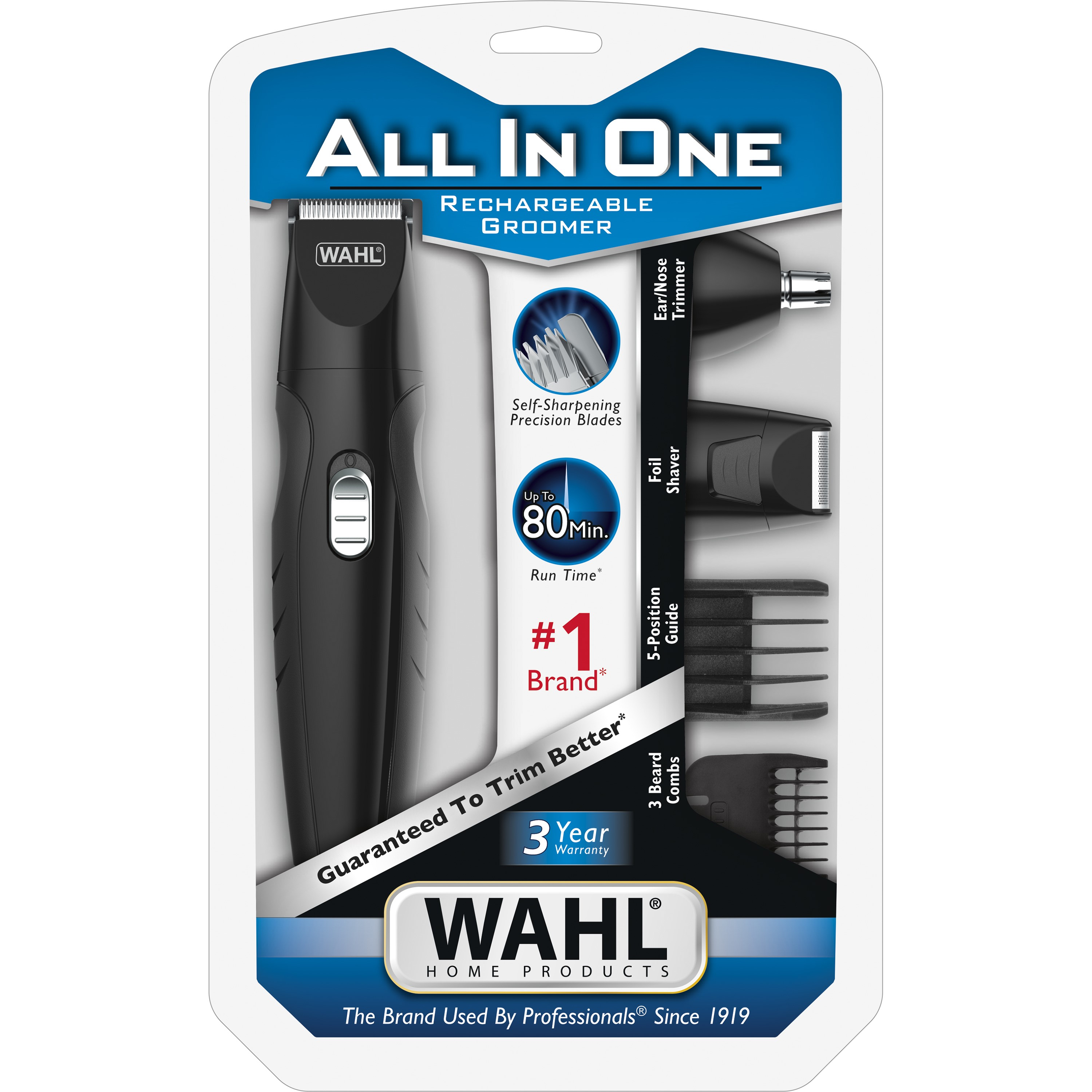 Wahl All-In-One Rechargeable Grooming Set