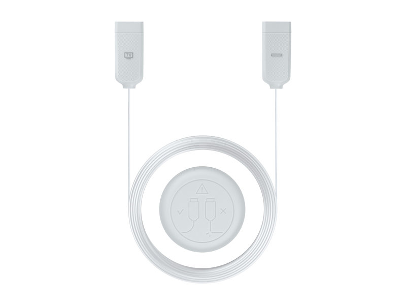 15meters One Connect In-Wall Cable for QLED & Frame TVs by Samsung