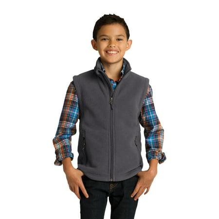 Port Authority Youth Value Fleece Vest Company Value Fleece Vest