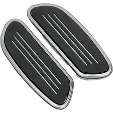 Drag Specialties Sweeper Floorboards Chrome/Rear Fits 10-...