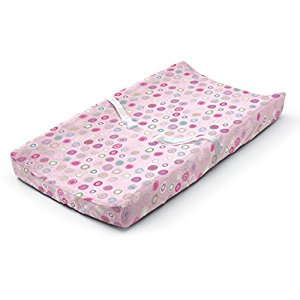 Summer Infant Ultra Plush Change Pad Cover, Pink Swirl