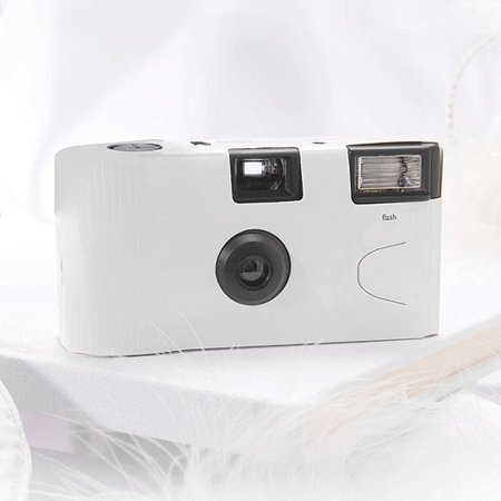 - White Single Use Camera Wedding Favor Party Favor
