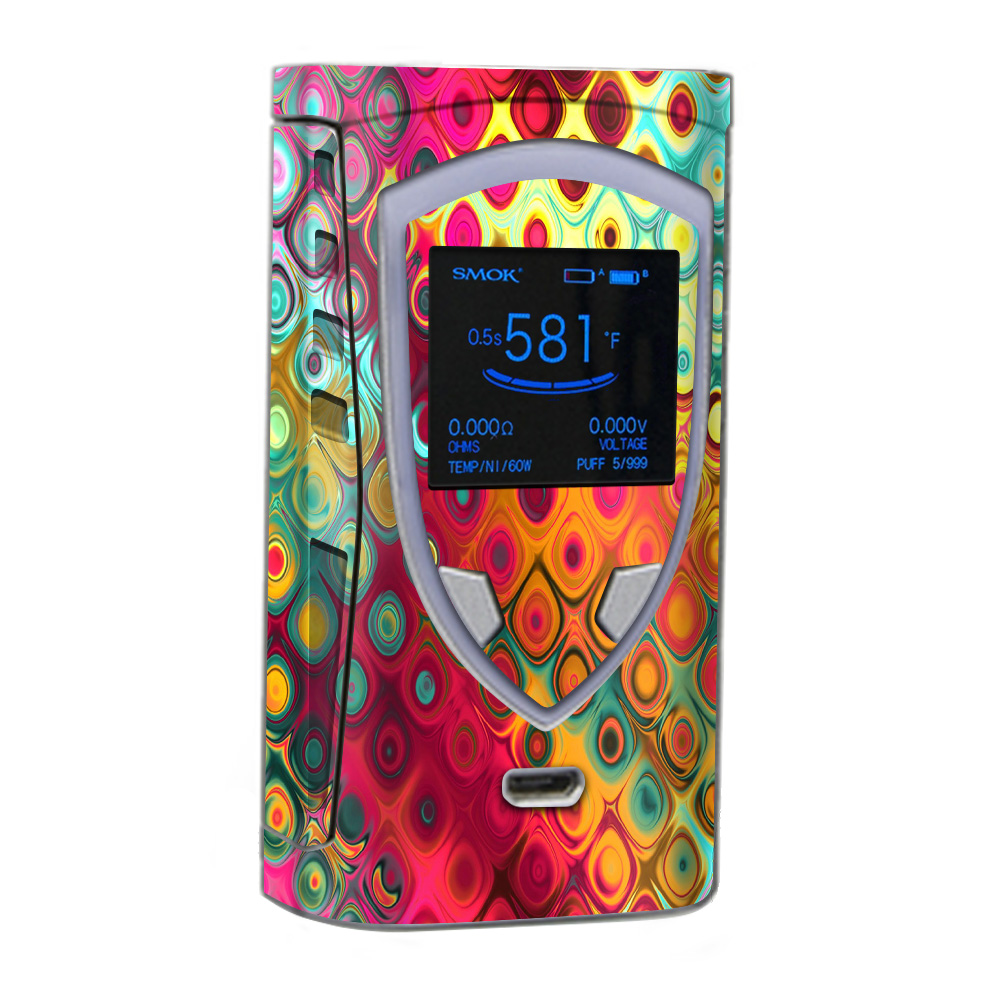 Skins Decals For Smok Procolor Vape / Colorful Pattern Stained Glass