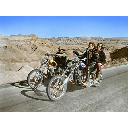 Easy Rider, Dennis Hopper, Peter Fonda, 1969 Print Wall Art ()