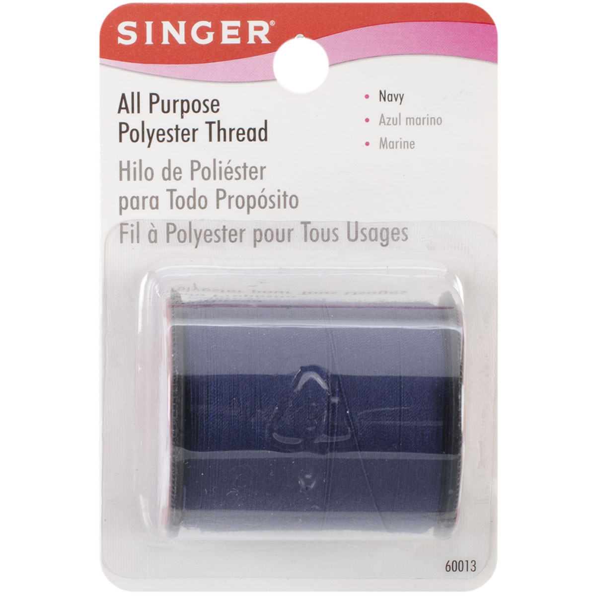 Singer All-Purpose Polyester Thread 150yd-Navy