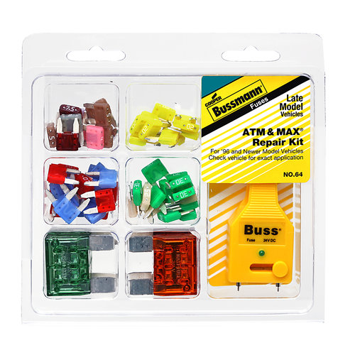 auto fuse kits solution of your wiring diagram guide • cooper bussmann atm and max automotive fuse kit fuse tester rh walmart com car fuse