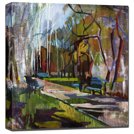 West Of The Wind Abstract Park Outdoor Wall Art