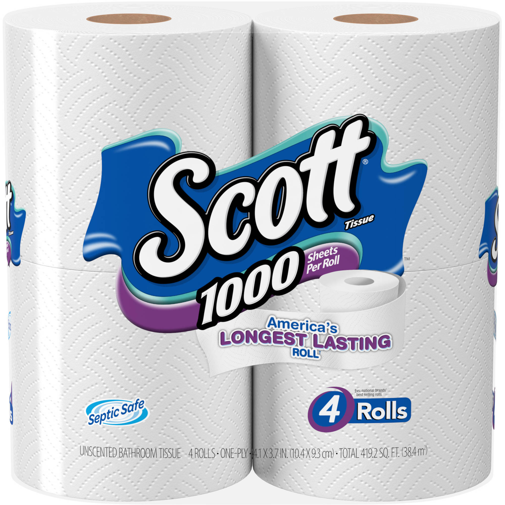 Scott Tissue One Ply Sheet Rolls