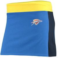 Oklahoma City Thunder Refried Tees Women's Tee Mini Skirt - Blue/Navy