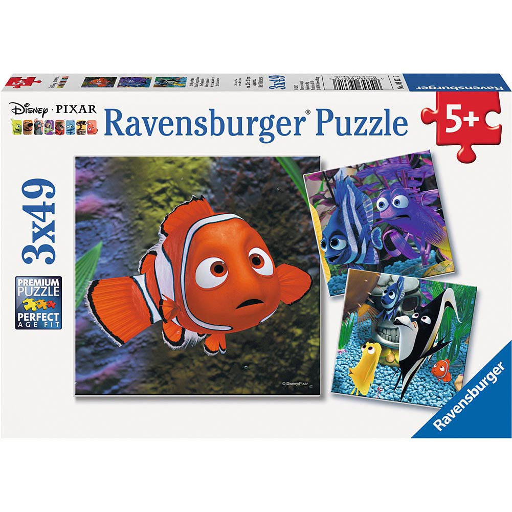 Finding Nemo In the Aquarium Puzzle Pack