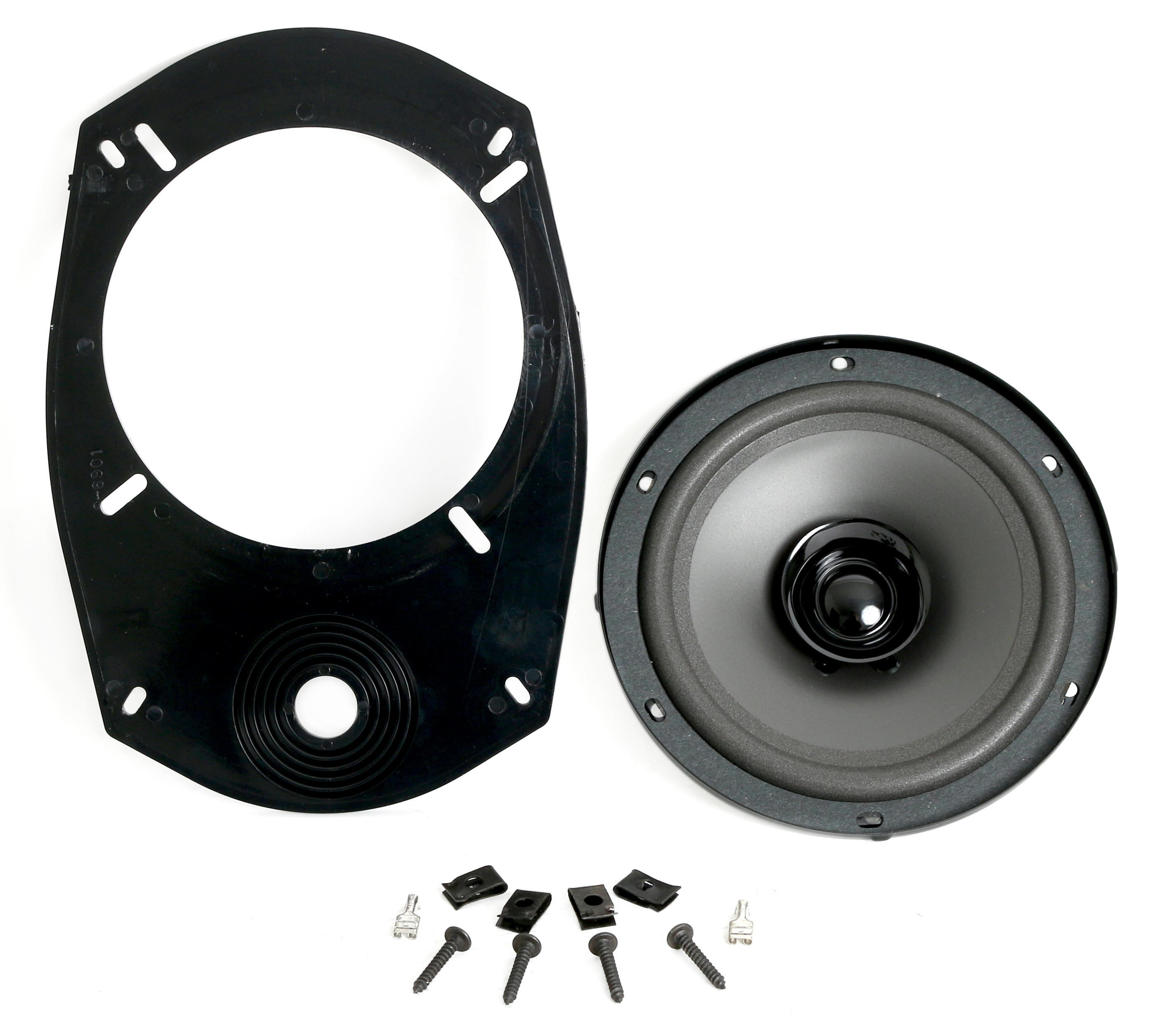 Universal Speaker w Adapter 6.5 in to 6x9 Location 1994-2010 Ford Dodge Vehicles
