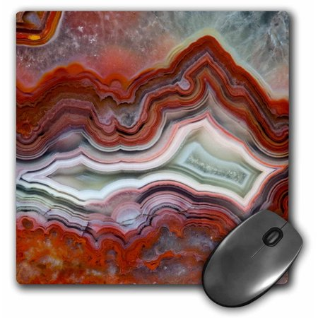 3dRose Mexican Crazy Lace Agate - Mouse Pad, 8 by (Mexican Crazy Lace)
