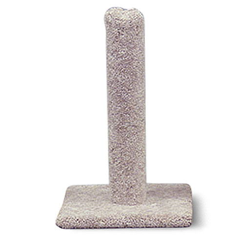 "26"" Carpeted Cat Scratching Post Furniture by NORTH AMERICAN PET"