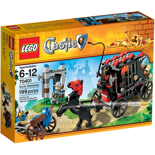 LEGO Castle Gold Getaway Play Set