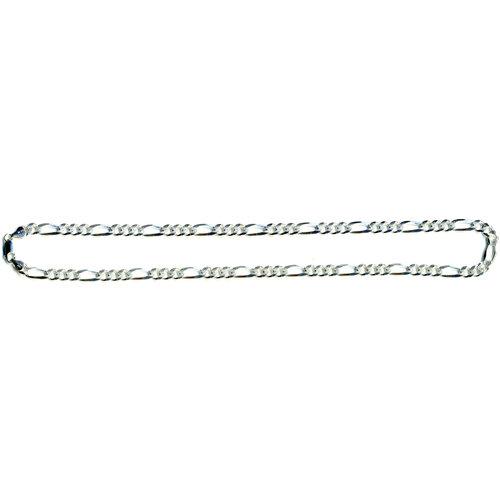 """Sterling Silver Figaro Chain, 22"""""""