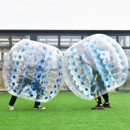 1.5M Inflatable Bumper Ball Body Zorbing Ball Zorb Bubble Soccer Football Blue - image 5 de 7