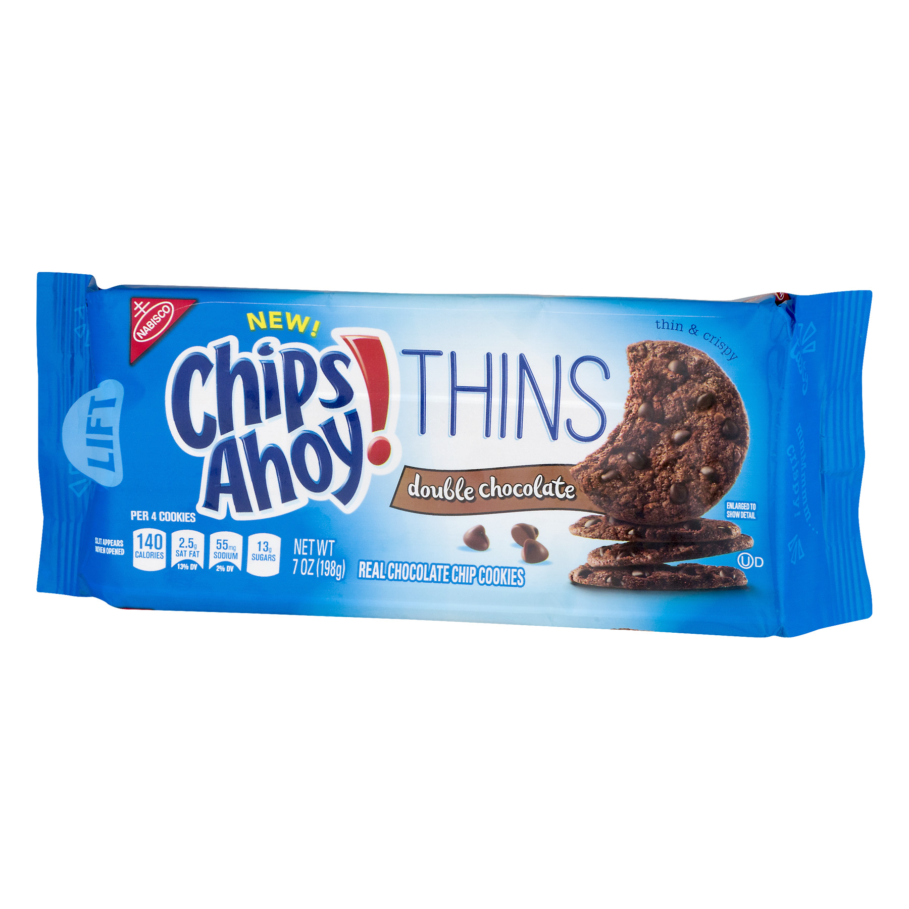 (3 Pack) Chips Ahoy!, Chips Ahoy! Thins Double Chocolate