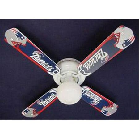 Cherry Designer Ceiling Fan (Ceiling Fan Designers 42FAN-NFL-NEP NFL England Patriots Football Ceiling Fan 42)
