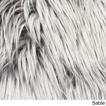 Faux Fur Animal Skin Rug