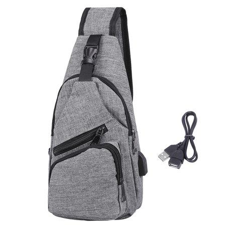 7eaf98c82cf6 HDE - HDE Mens Sling One Arm Bag Anti-Theft Backpack Crossbody ...