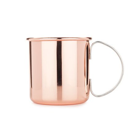 Mugs, Moscow Cocktail Durable Stainless Steel Insulated Mule Mug (Sold by Case, Pack of 6)
