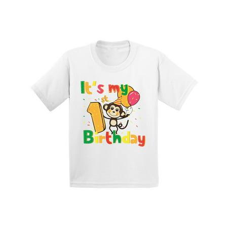 Awkward Styles Monkey Birthday Infant Shirt Birthday Monkey Baby Shirt Baby Monkey Tshirt for 1st Birthday 1st Birthday Party Monkey Birthday Party Baby Boy Birthday Shirt Baby Girl Birthday