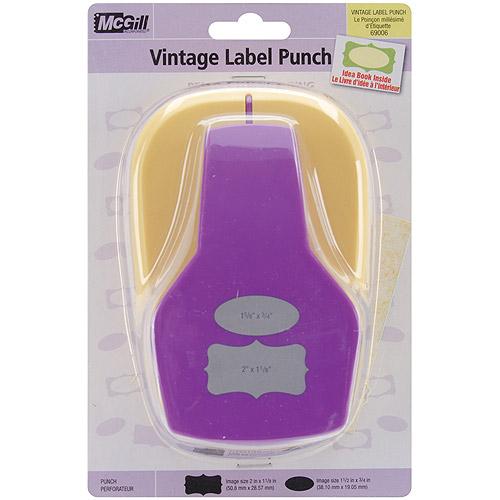 Stacking Lever Punch, Vintage Labels