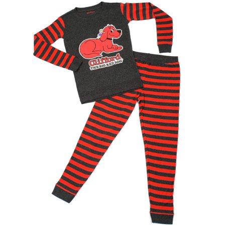 Clifford Baby Toddler Boy or Girl Unisex Tight Fit Pajamas 2pc Set