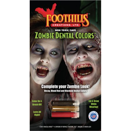 Dracula House Theatre Quality Zombie Dental Colors Costume - Elizabethan Theatre Costume
