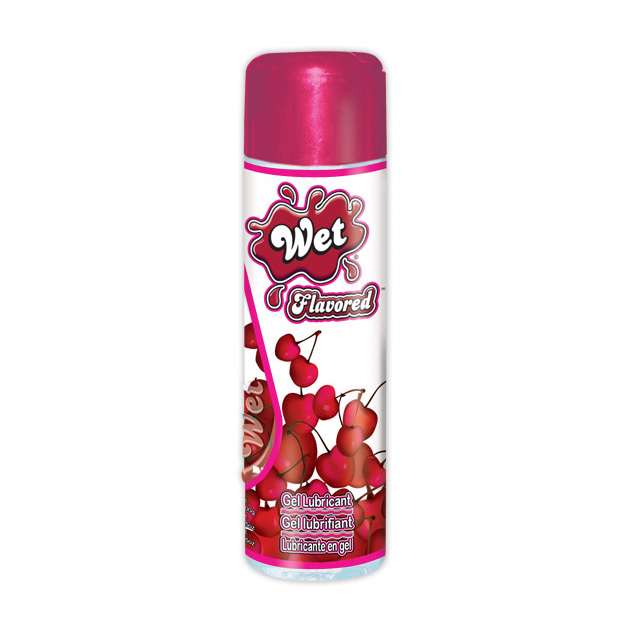 Wet Flavored Water Based Lubricant - Sweet Cherry - 3.6 oz