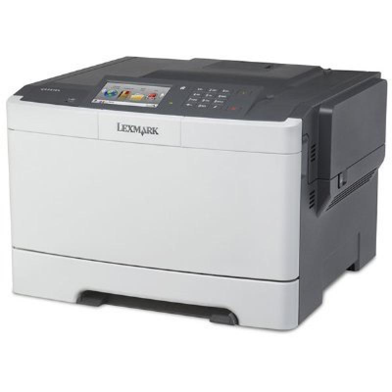 "Lexmark 2.8E+51 Color Laser - Lexmark CS510de Color Laser Printer (32 ppm Black/Color) (800 MHz) (512 MB) (8.5"" x 14"") (1200 x 1200 dpi) (Max Duty Cycle 85000 Pages) (Duplex) (USB) (Ethernet) (Touchsc"