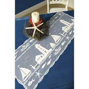 Heritage Lace Harbor Lights Table Runner