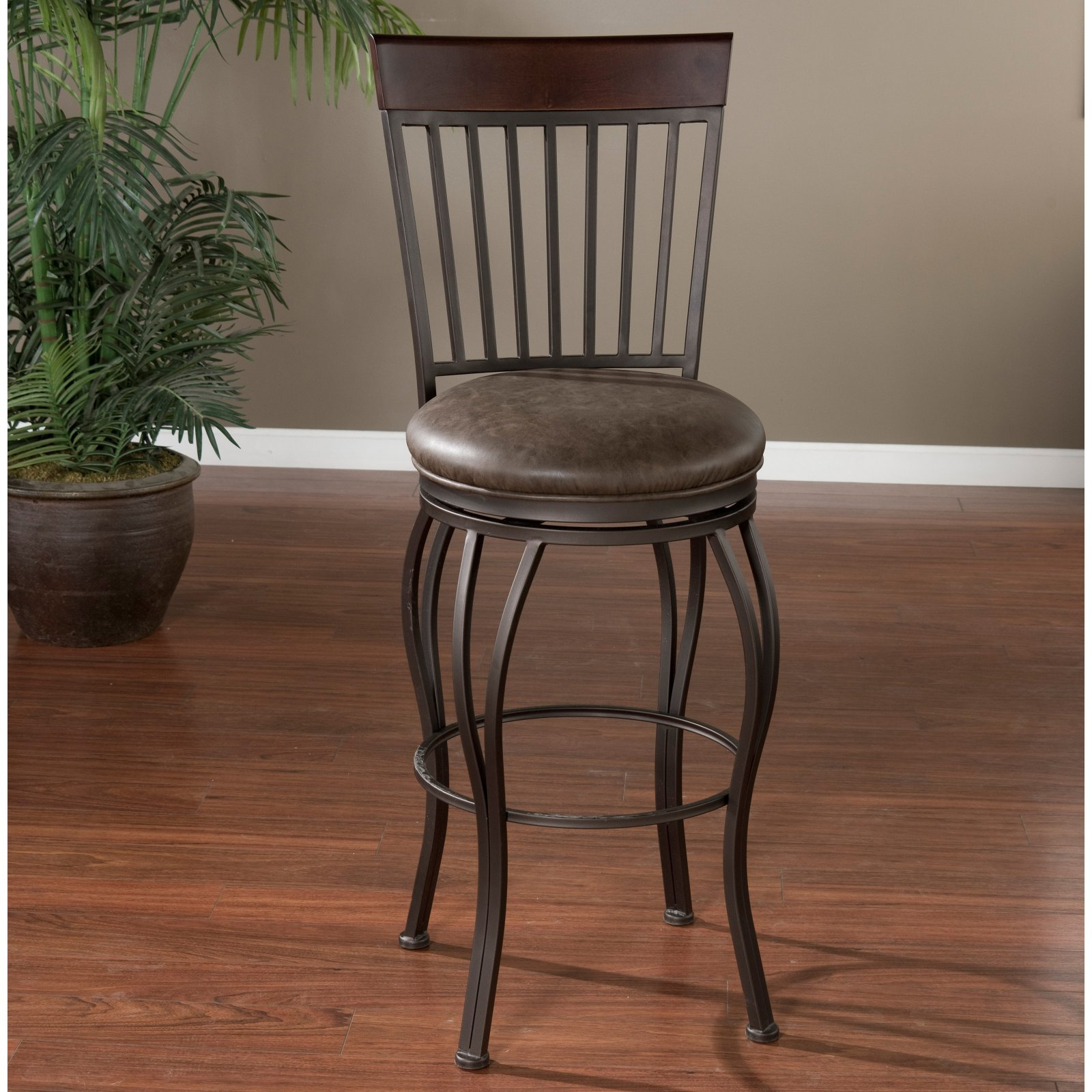 AHB Torrance Bar Stool - Pepper