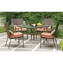 5-Pc Mainstays Alexandra Square Patio Dining Set