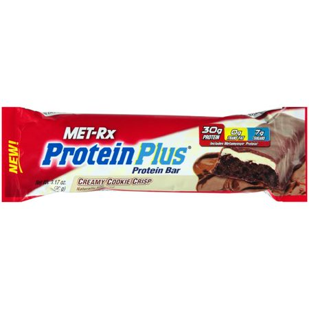 MET-Rx Protein Plus Creamy Cookie Crisp Protein Bar, 3.17 oz