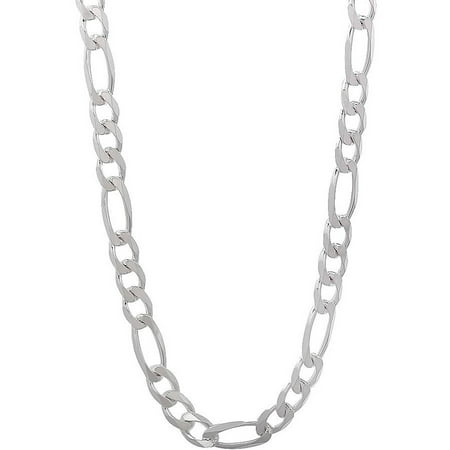 Pori jewelers italian sterling silver figaro chain mens necklace pori jewelers italian sterling silver figaro chain mens necklace mozeypictures Image collections
