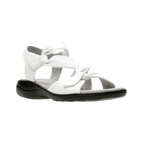 6435891013b8 Clarks - Womens Clarks Saylie Moon Criss Cross Sports Sandals