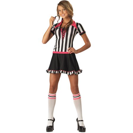 Racy Referee Teen Halloween Costume - Referee Costumes For Women