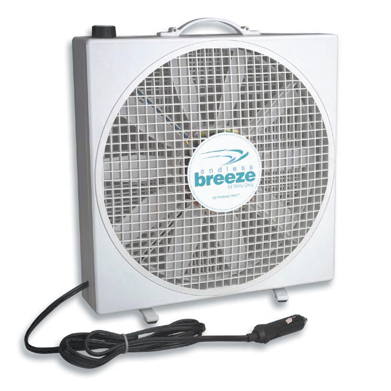 Fan-Tastic 01100WH Endless Breeze 12V RV Fan