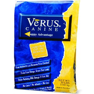 VeRUS Puppy Advantage Chicken Meal, Oats and Brown Rice Formula Dry Dog Food